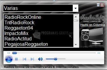 Pantallazo Radios Latinas