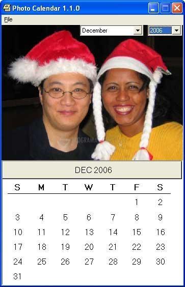 Pantallazo Photo Calendar