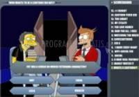 Pantallazo Simpsons Vs. Futurama Quiz