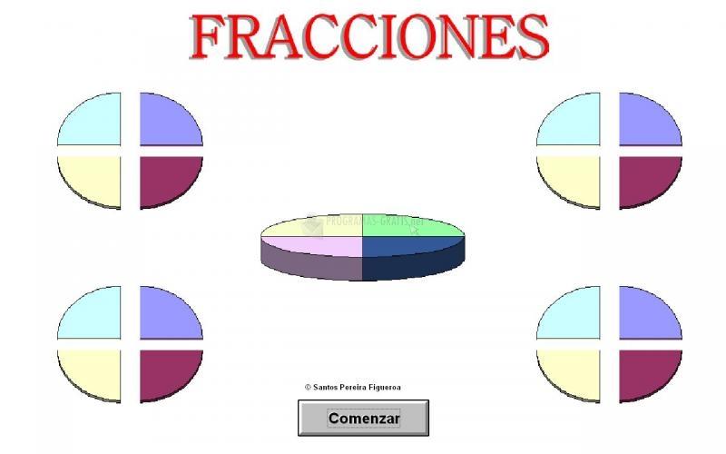 Pantallazo Donsantos Fracciones