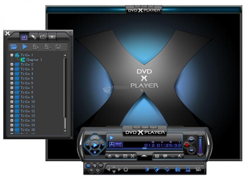 Pantallazo DVD X Player Pro