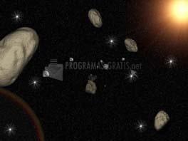 Pantallazo 3D Space Asteroids