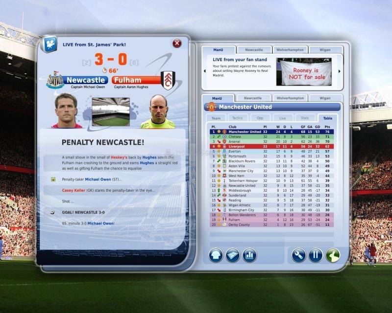Pantallazo FIFA Manager 09