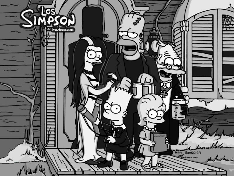 Pantallazo Los Simpson Monster