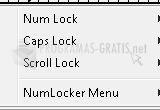 Pantallazo NumLocker
