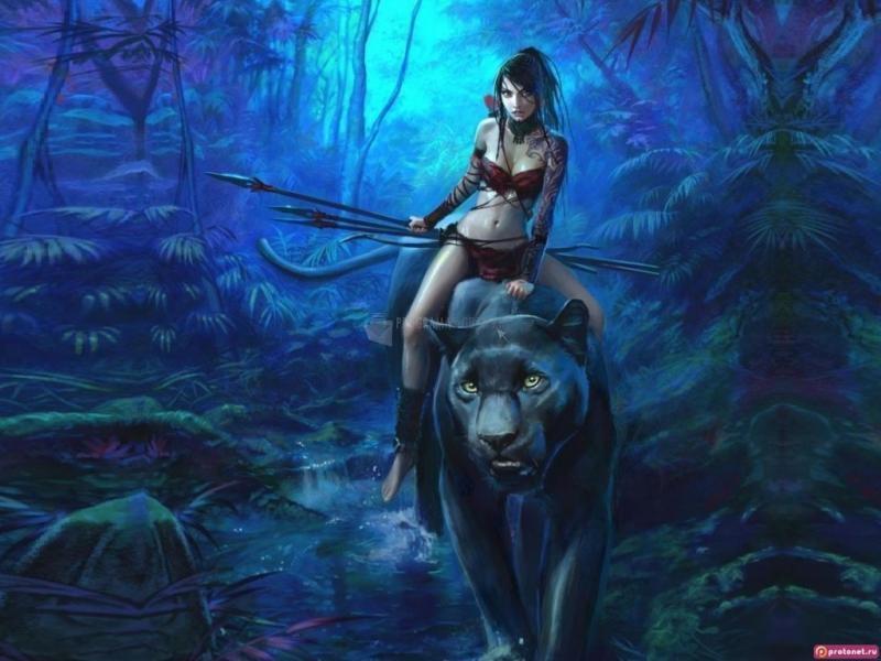 Pantallazo La guerrera y su pantera