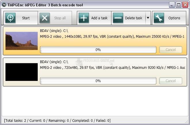 Captura TMPGEnc MPEG Editor
