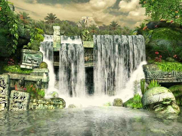 Pantallazo Mayan Waterfall 3D Screensaver