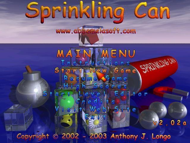 Pantallazo Sprinkling Can