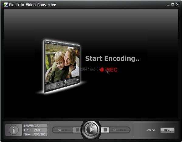Pantallazo Flash Video Converter