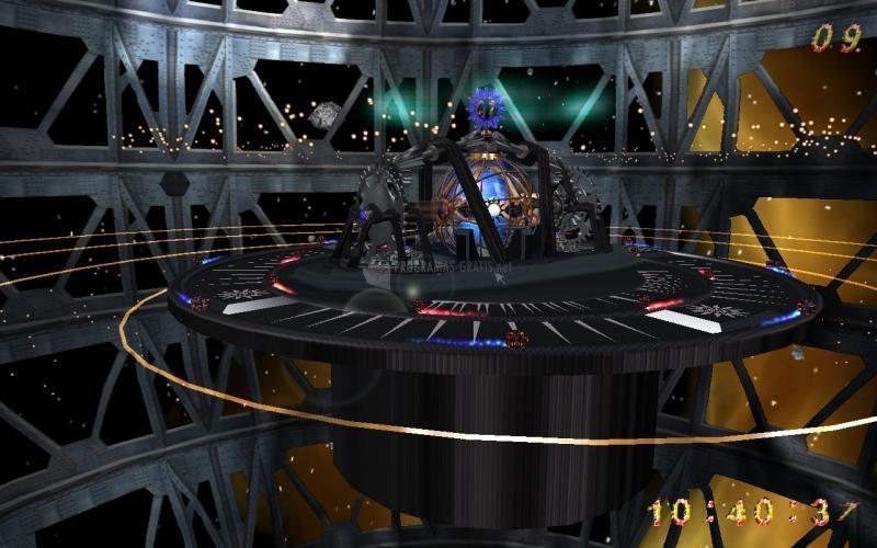 Pantallazo Alien Clock 3D