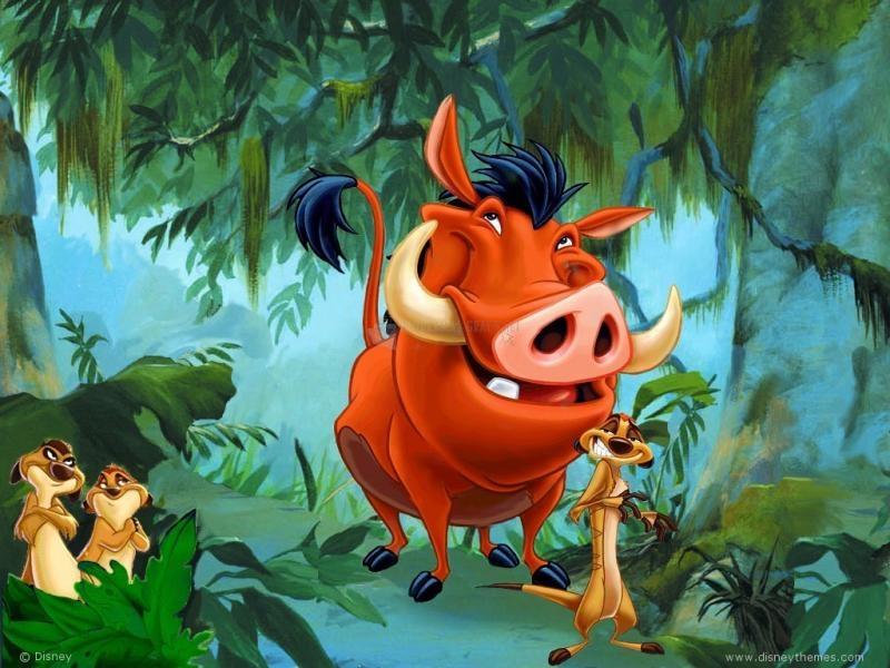 Pantallazo Timón y Pumba