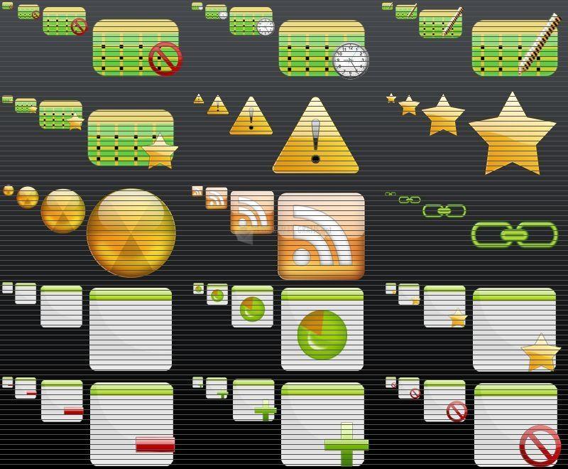 Pantallazo FPS Icons Pack