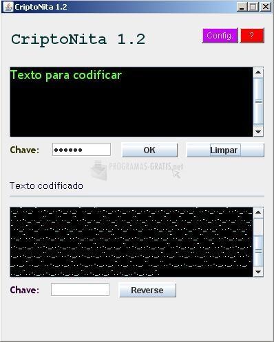 Pantallazo CriptoNita