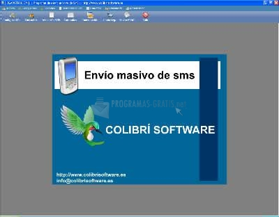 Pantallazo CS-Envío Masivo de SMS