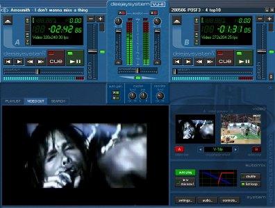 Pantallazo Deejaysystem Video VJ2