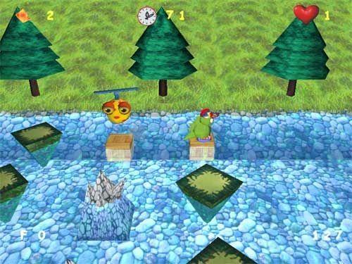Pantallazo Dino Lake 3D