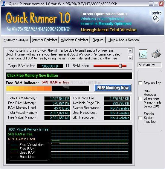 Pantallazo Quick Runner