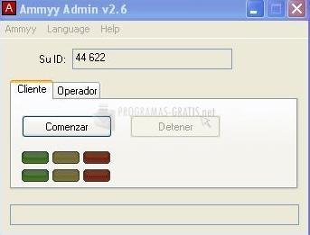 Pantallazo Ammyy Admin