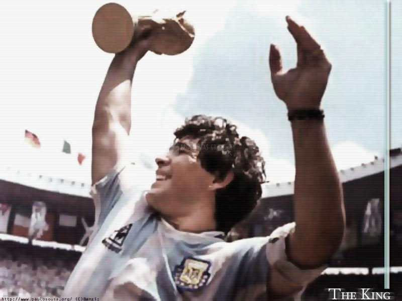 Pantallazo Maradona the king