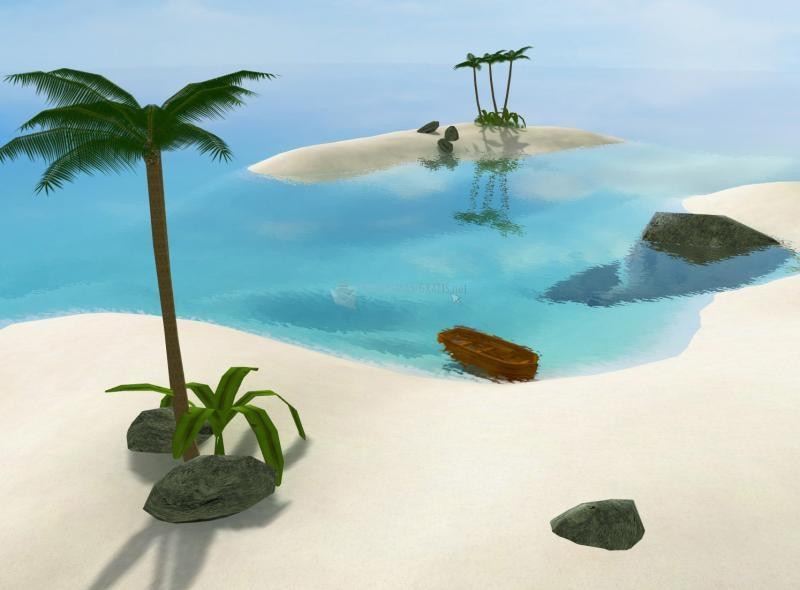 Pantallazo Secret Island 3D ScreenSaver