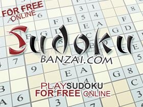 Pantallazo Sudoku banzai