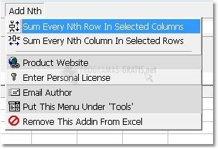 Pantallazo Excel Add Nth