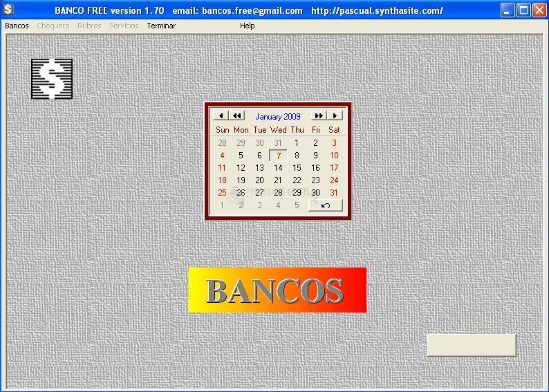 Pantallazo Bancos