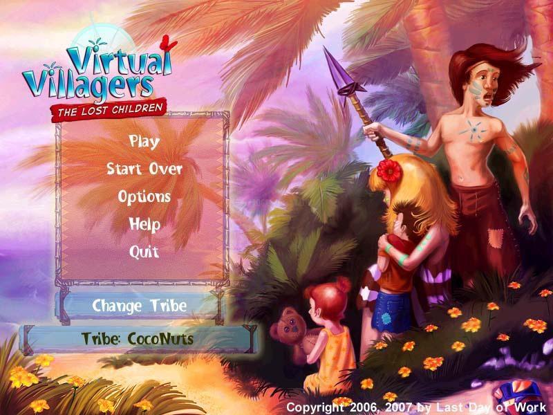 Pantallazo Virtual Villagers 2: The Lost Children
