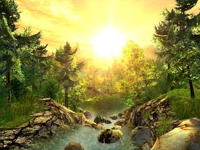 Pantallazo Nature 3D Screensaver