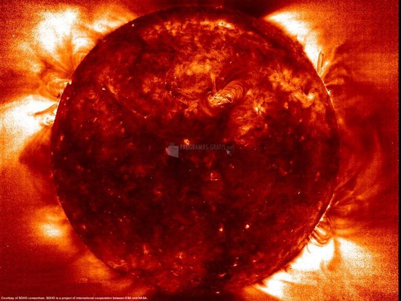 Pantallazo Tormenta Solar
