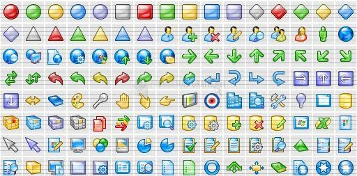 Pantallazo XP Aqua Icons Demo