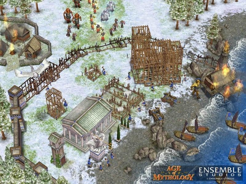 Pantallazo Age of Mythology