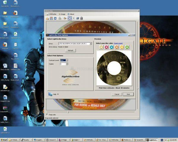 Pantallazo DVDScribe