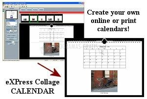 Pantallazo eXPress Collage Calendar