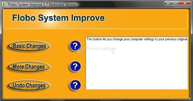 Pantallazo Flobo System Improve
