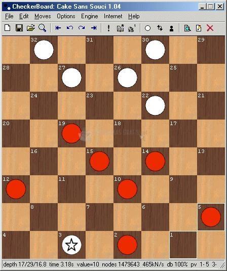 Pantallazo Checker Board
