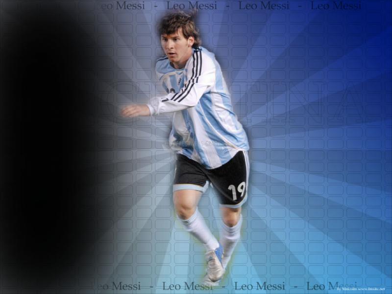 Pantallazo Messi en la Argentina