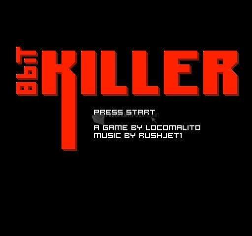Pantallazo 8bit killer