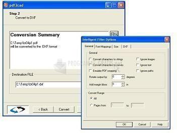 Pantallazo PDF 2 CAD