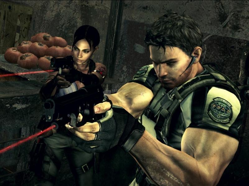 Pantallazo Resident Evil: Fondo