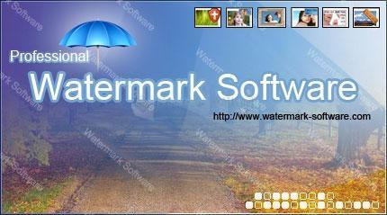 Pantallazo Watermark Software