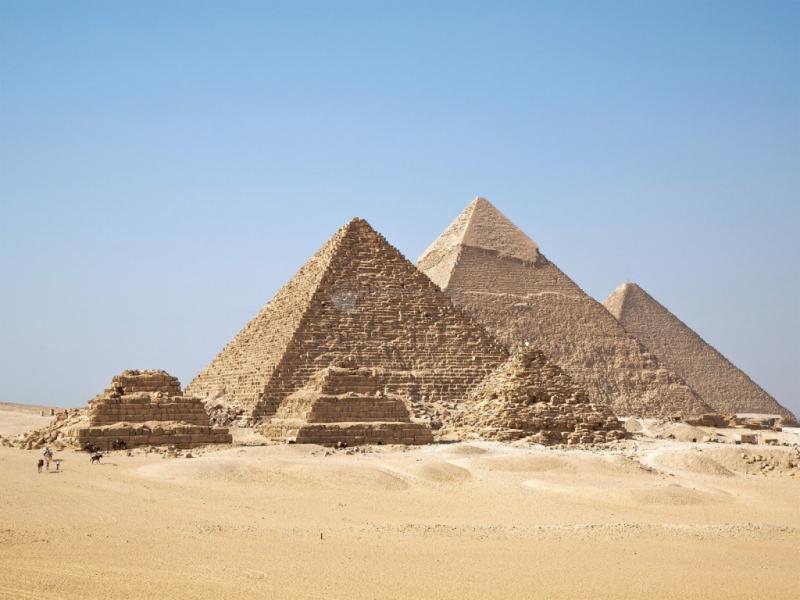 Pantallazo Tres pirámides
