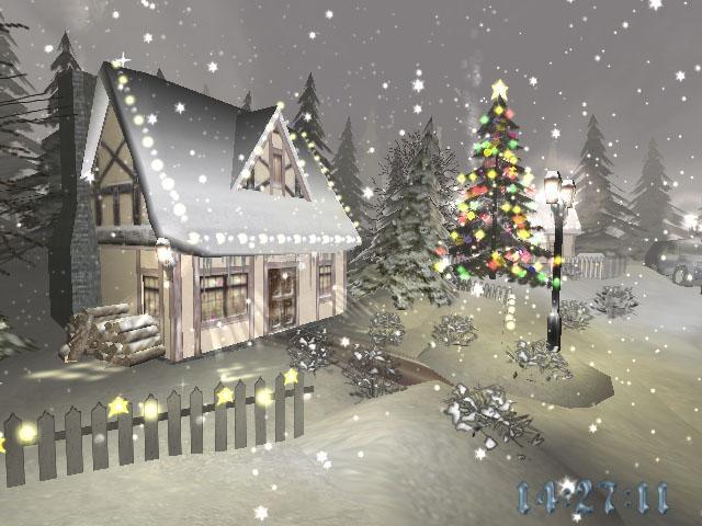 Pantallazo Christmas Time 3D Screensaver
