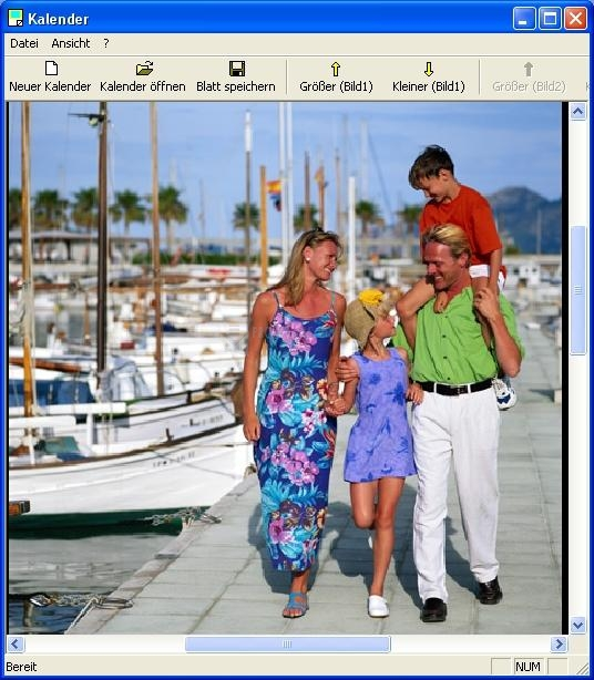 Pantallazo TKexe Kalender Deutsche