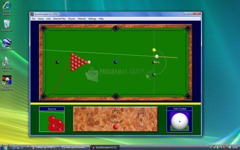 Pantallazo Quick Snooker