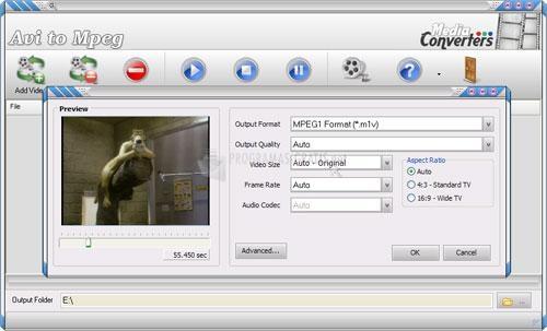 Pantallazo AVI to MPEG