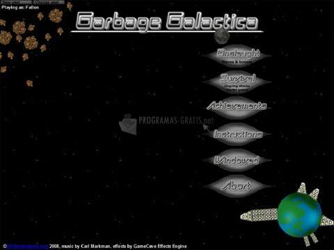 Pantallazo Garbage Galactica