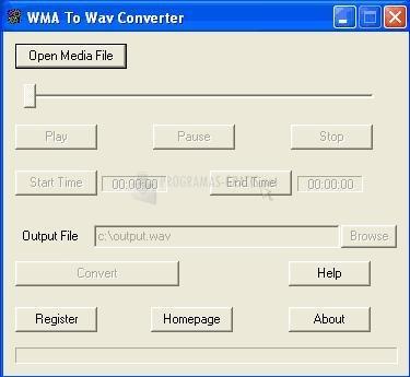 Pantallazo 008 WMA To WAV Converter