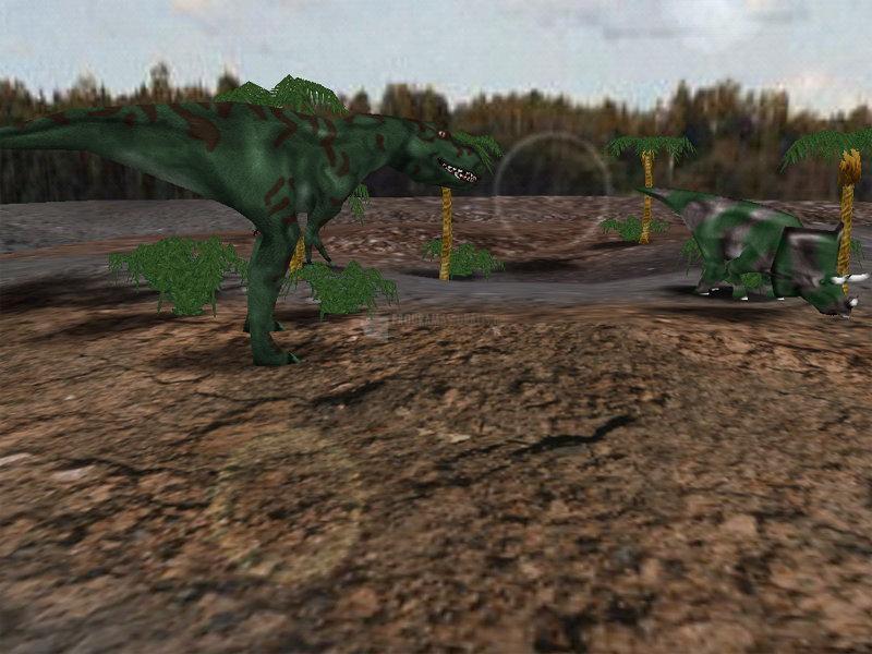 Pantallazo Dino Glade Advanced
